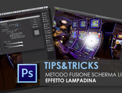 PHOTOSHOP – EFFETTO LAMPADINA – Tips&Tricks